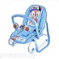 Шезлонг TOP RELAX  Blue Baby Fox