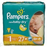Подгузники Pampers Active Baby-Dry 27 шт. ( 2-5 кг )