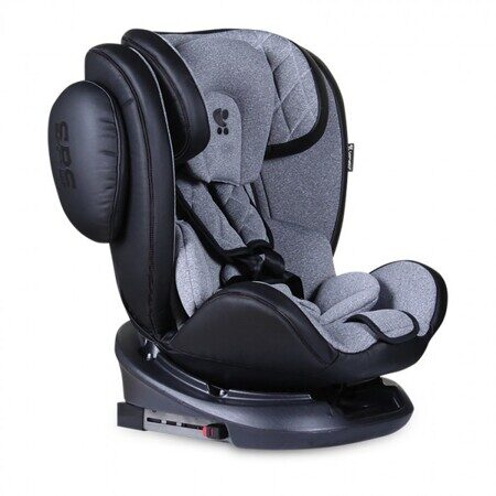 Дет. автокресло  Aviator Isofix Black Light Grey арт.10071301901