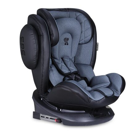 Дет. автокресло  Aviator Isofix Black Dark Grey арт.10071301902